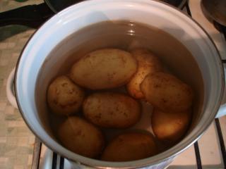Картофель фаршированный (пошаговый фоторецепт)