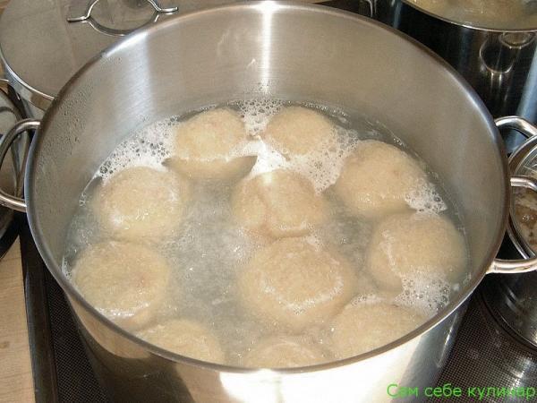 картофельные клецки отварить