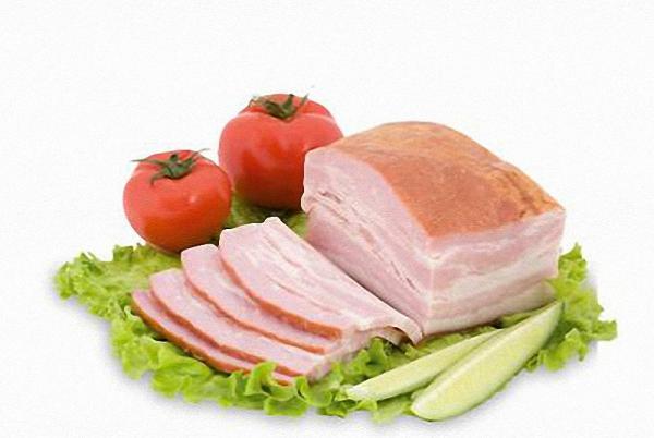 грудинка свиная нарезанная пластами