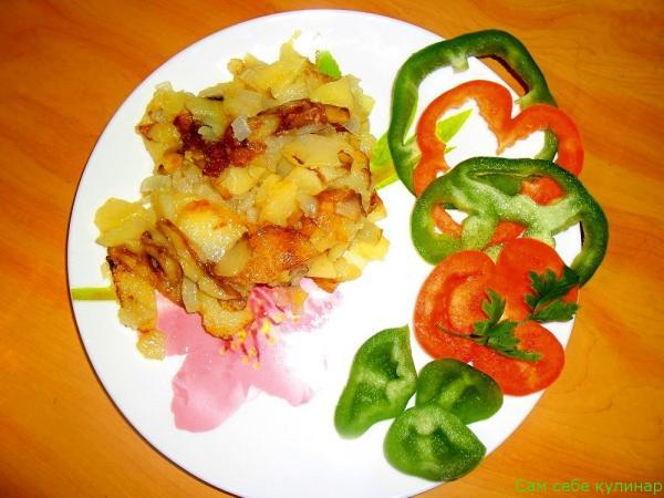 Как пожарить картошку рецепт с фото