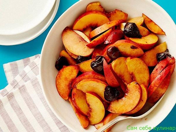 бланшированные фрукты ми ягоды для чизкейка