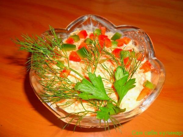 Салат из моркови с сыром рецепт с фото пошаговый
