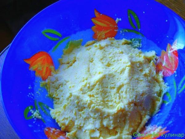 тесто для сырных шариков