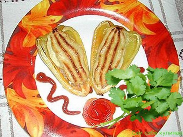 Картофельные лодочки с куриным паштетом (пошаговый фоторецепт)