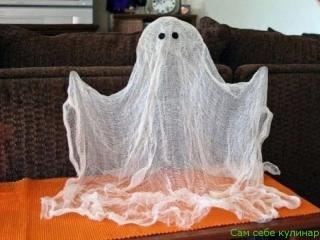 Улыбнись! Как сделать привидение?