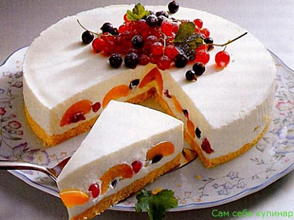Украшение чизкейков и тортов (подборка фотографий)
