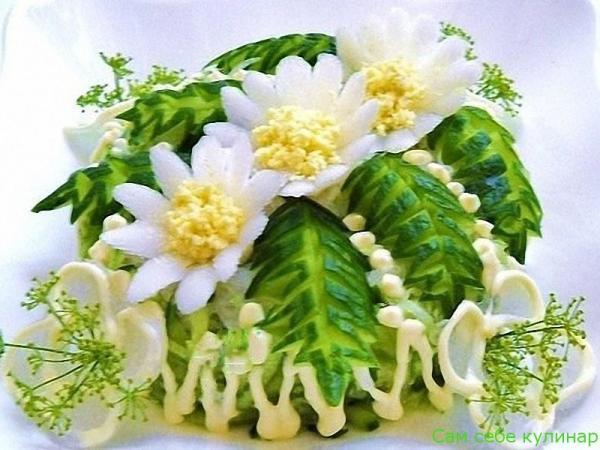 Картофельный салат «Весенний» (фоторецепт)
