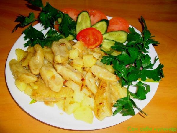Галушки украинские рецепт с фото пошаговый