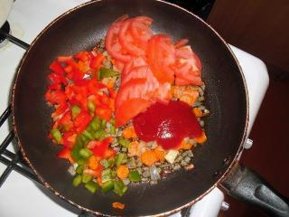 овощная обжарка для борща