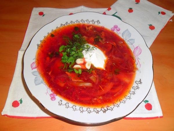 Борщ -  рецепт, супы рецепты - пошаговые рецепты с фото