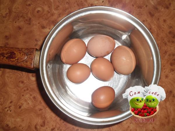 яйца куриные отваренные в скорлупе