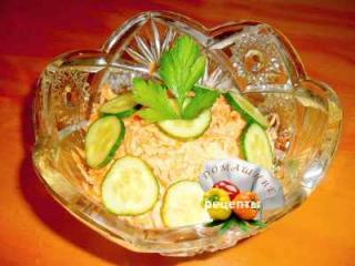 Салат морковный с чесноком рецепт с фото пошаговый