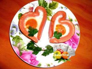 Как приготовить яичницу сердечки рецепт с фото пошаговый