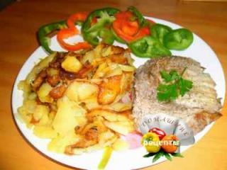 Как приготовить жареную картошку рецепт с фото пошаговый