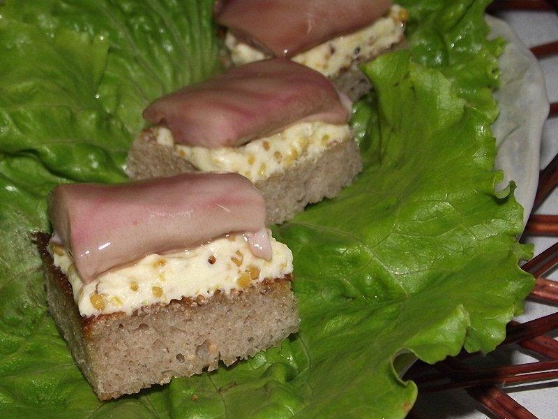 канапе с молоками соленой сельди рецепт с фото пошаговый