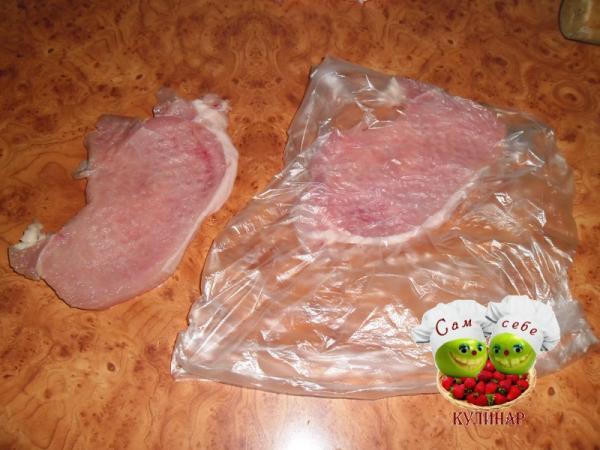 отбиваем свинину мясо по французски рецепт с фото пошаговый