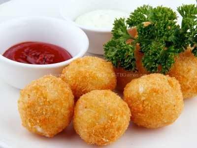 Сырные шарики жареные простые рецепт с фото пошаговый