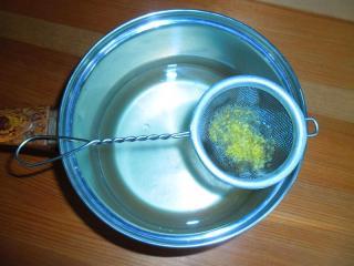 лимонный сок процедить