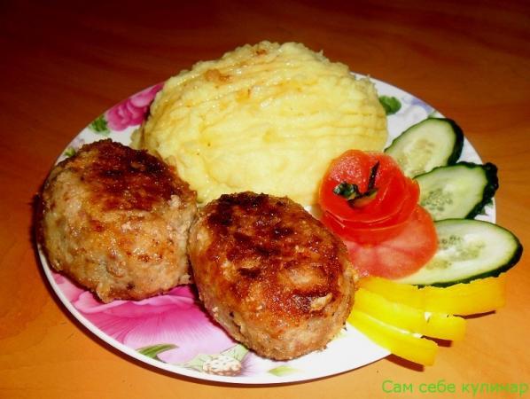 Котлеты мясные домашние рецепт