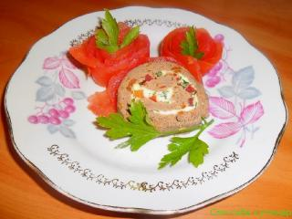 Розочки из помидоров (пошаговое фото)