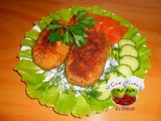 котлеты по киевски из фарша рецепт с фото пошаговый