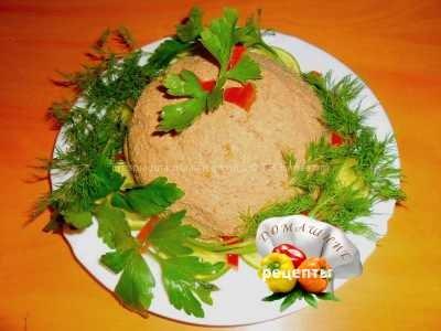 паштет из куриной печени рецепт с фото пошаговый