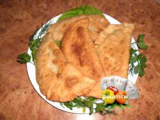 Чебуреки с мясом рецепт с фото пошаговый