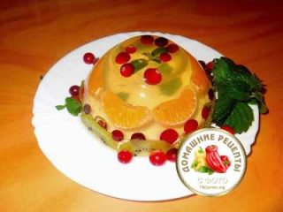 Как приготовить лимонное желе рецепт с фото