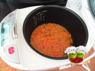 морковь жарим в мультиварке