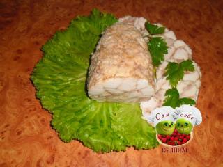 куриный рулет - праздничный рецепт с фото