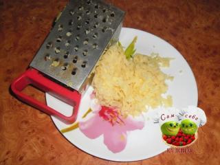 картофель натертый на терке