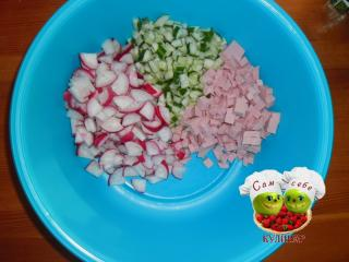 ингредиенты для окрошки