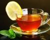 чашка чая лимон