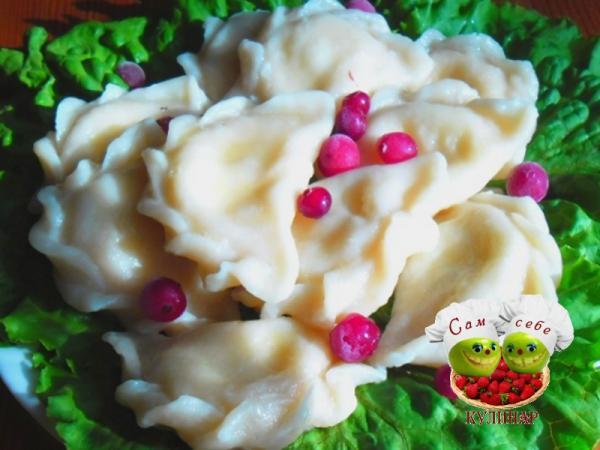 вареники с творогом пошаговый рецепт с фото