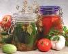 консервированные помидоры огурцы чеснок