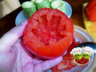 помидор без сердцевины