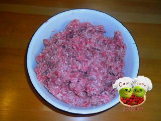 фарш домашний с рисом