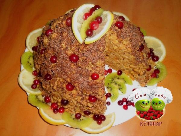 муравейник в разрезе на тарелке