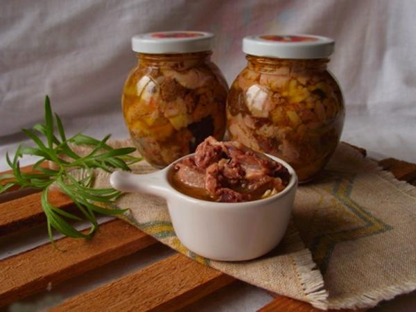 домашняя тушенка из свинины