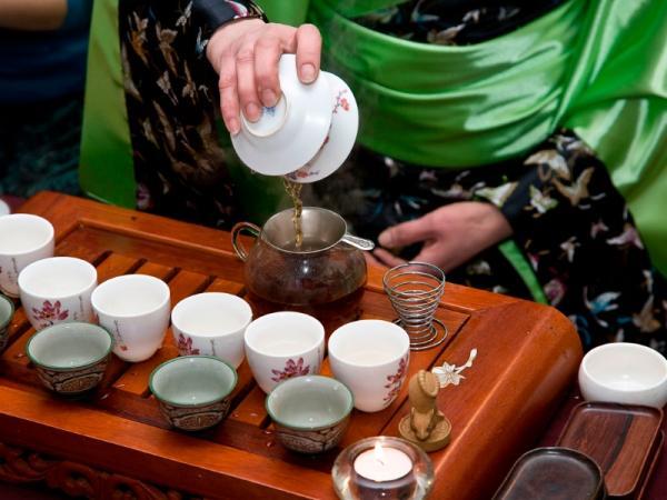 чайная церемония, чаепитие, чайный столик