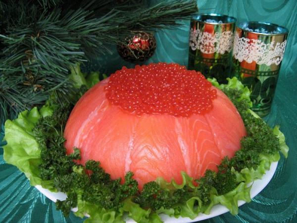Салат слоеный Праздничный Рыбный торт - пошаговый фото рецепт