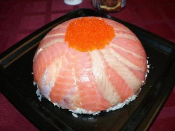 рыба икра противень