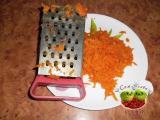 морковь натереть на терке