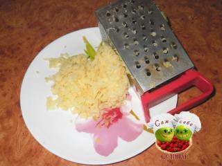 картофель натереть на терке