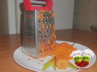 морковь натертая на терке