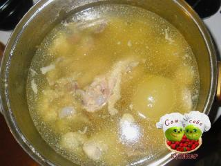 бульон для холодца праздничные рецепты с фото