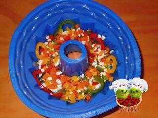 слой овощей для заливного