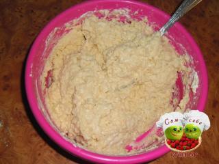 тесто для кекса перемешать ложкой