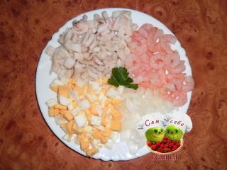 смесь для салата