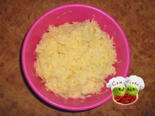картошка натертая на терке